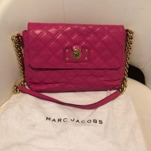 Marc Jacobs quilted satchel bag